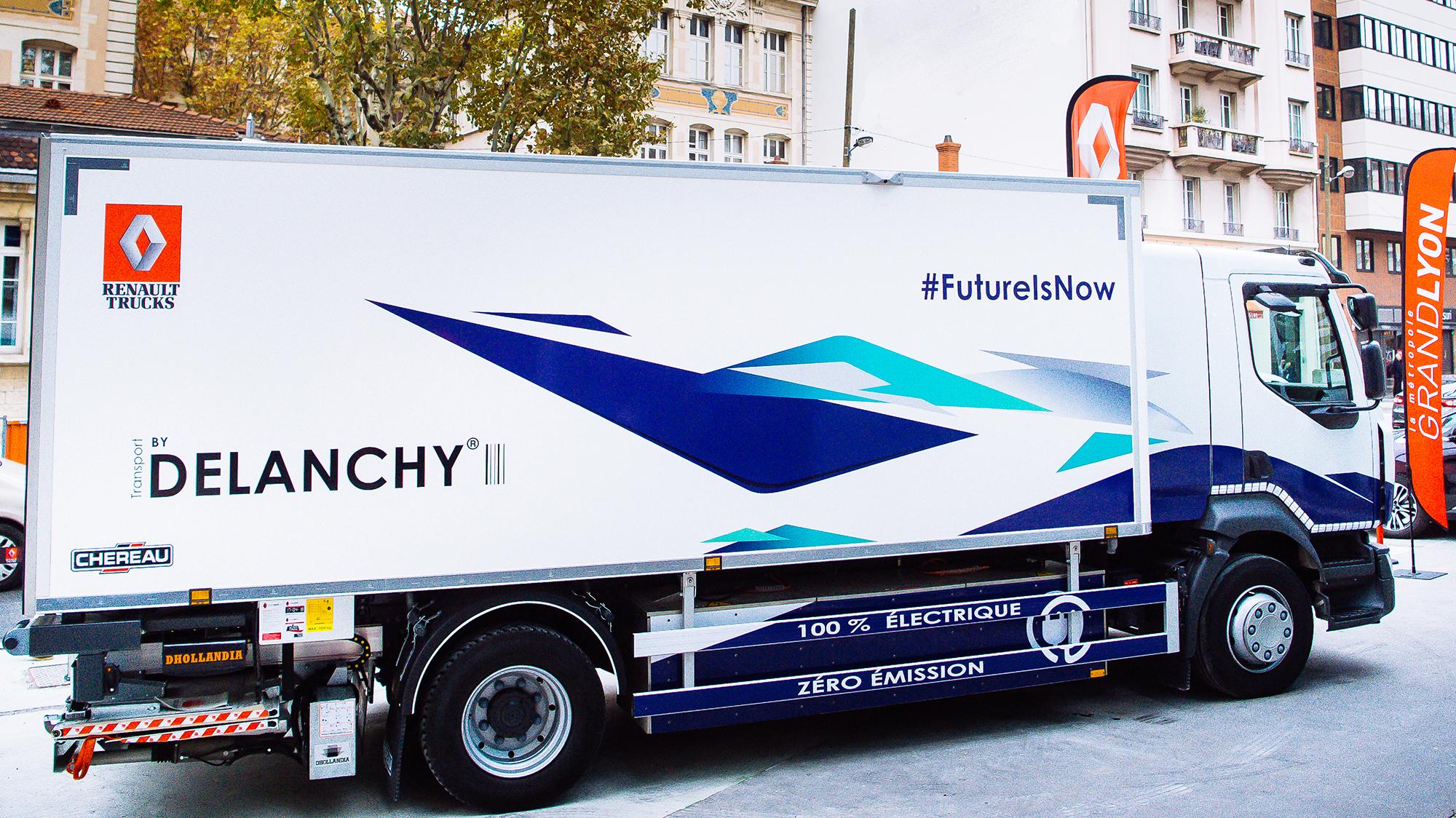 elektroautos renault trucks will ab 2019 elektro lkw in serie bauen heise online. Black Bedroom Furniture Sets. Home Design Ideas