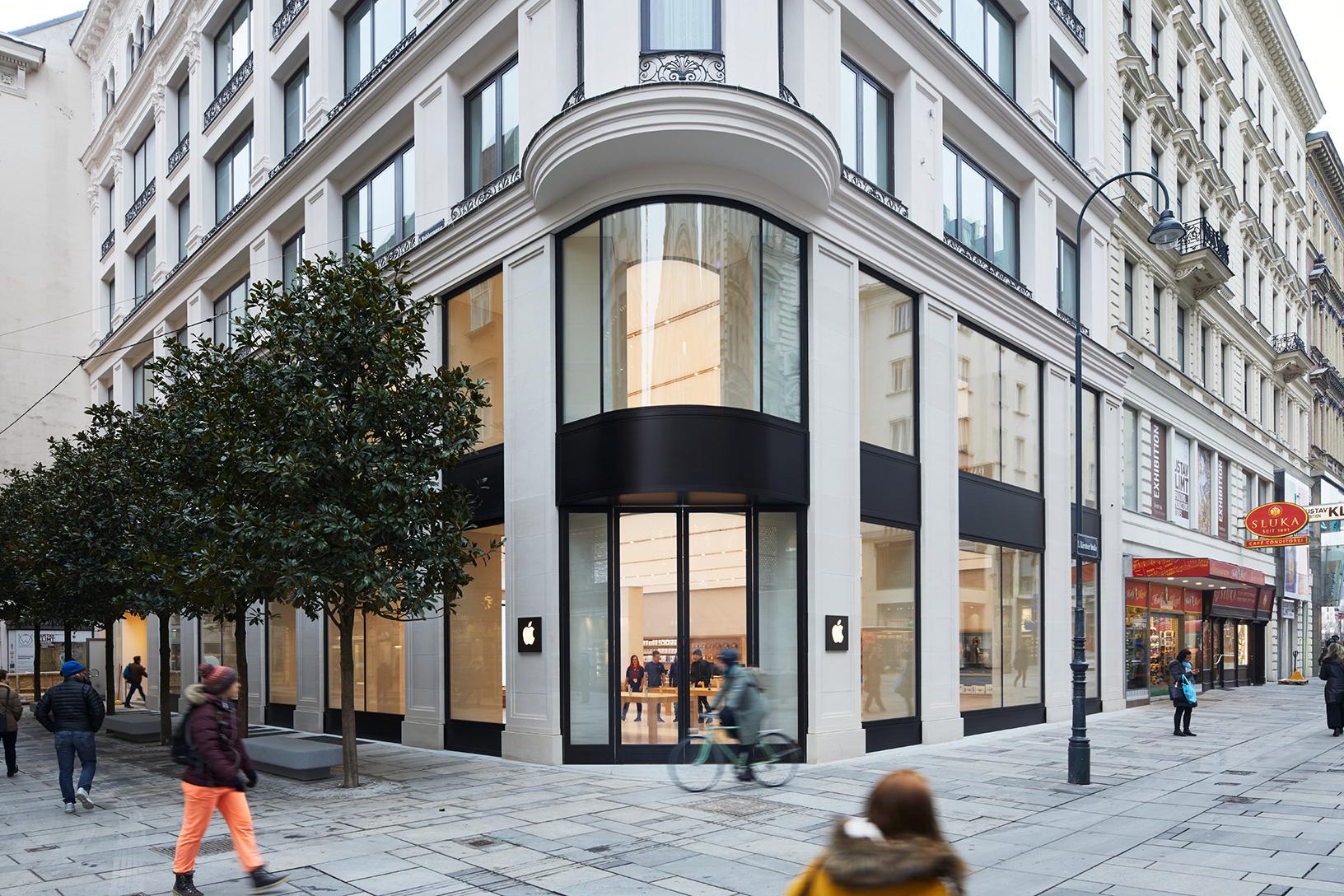 Apple Store Wien: Eröffnung steht an   heise online