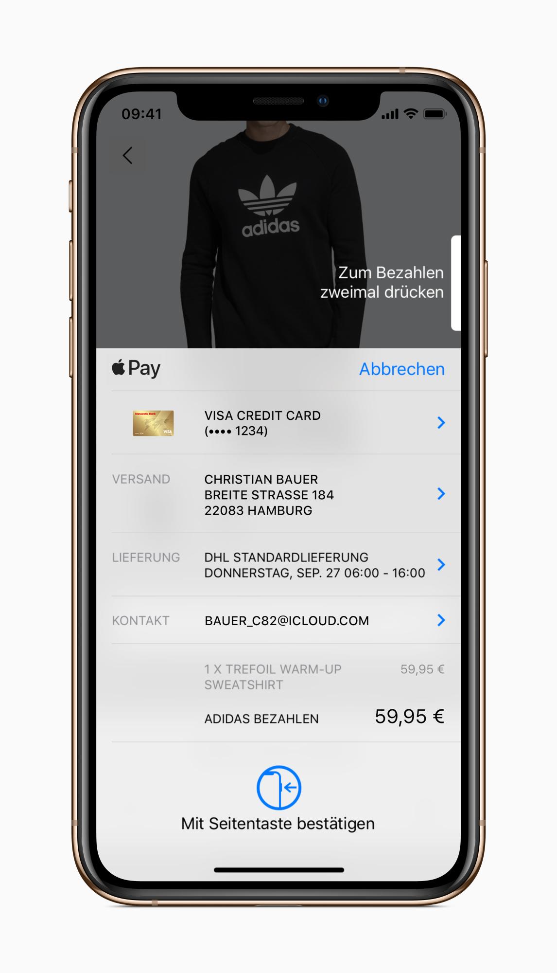 Kartennummer Ec Karte Commerzbank.Apple Pay In Deutschland Fragen Und Antworten Heise Online