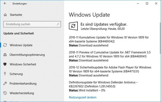 Großes Update fixt zahlreiche Bugs in Windows 10 Version 1809
