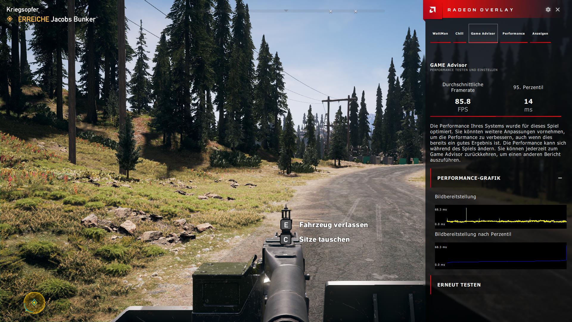 Neuer Radeon-Treiber mit Auto-OC und Game-Streaming