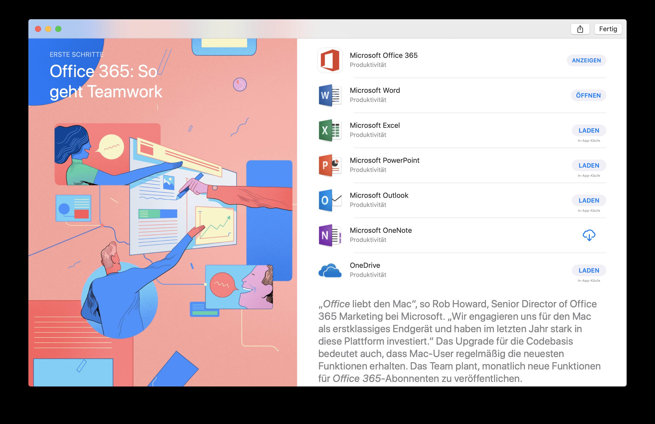 Microsoft Stellt Office In Den Mac App Store Nur Als Abo Heise