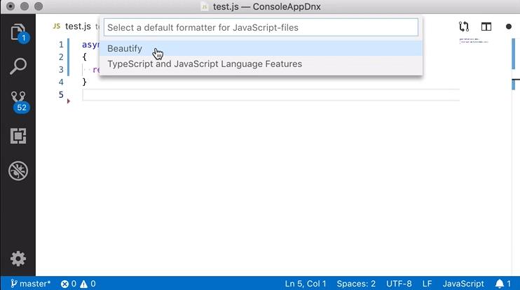Sourcecode-Editor: Visual Studio Code 1 33 als Snap-Paket