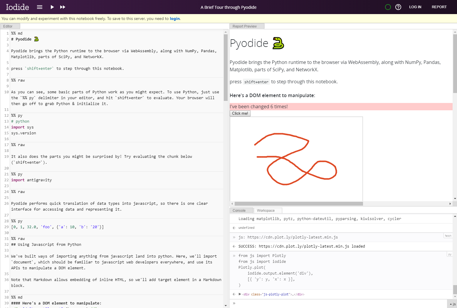 Mozilla bringt Python in den Browser | heise online