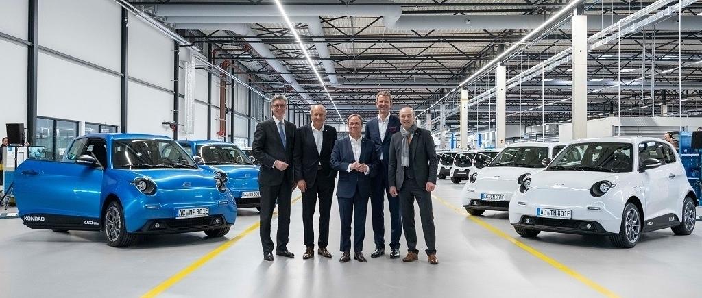 Elektroautos Erste Serienfahrzeuge Des Ego Life Ausgeliefert