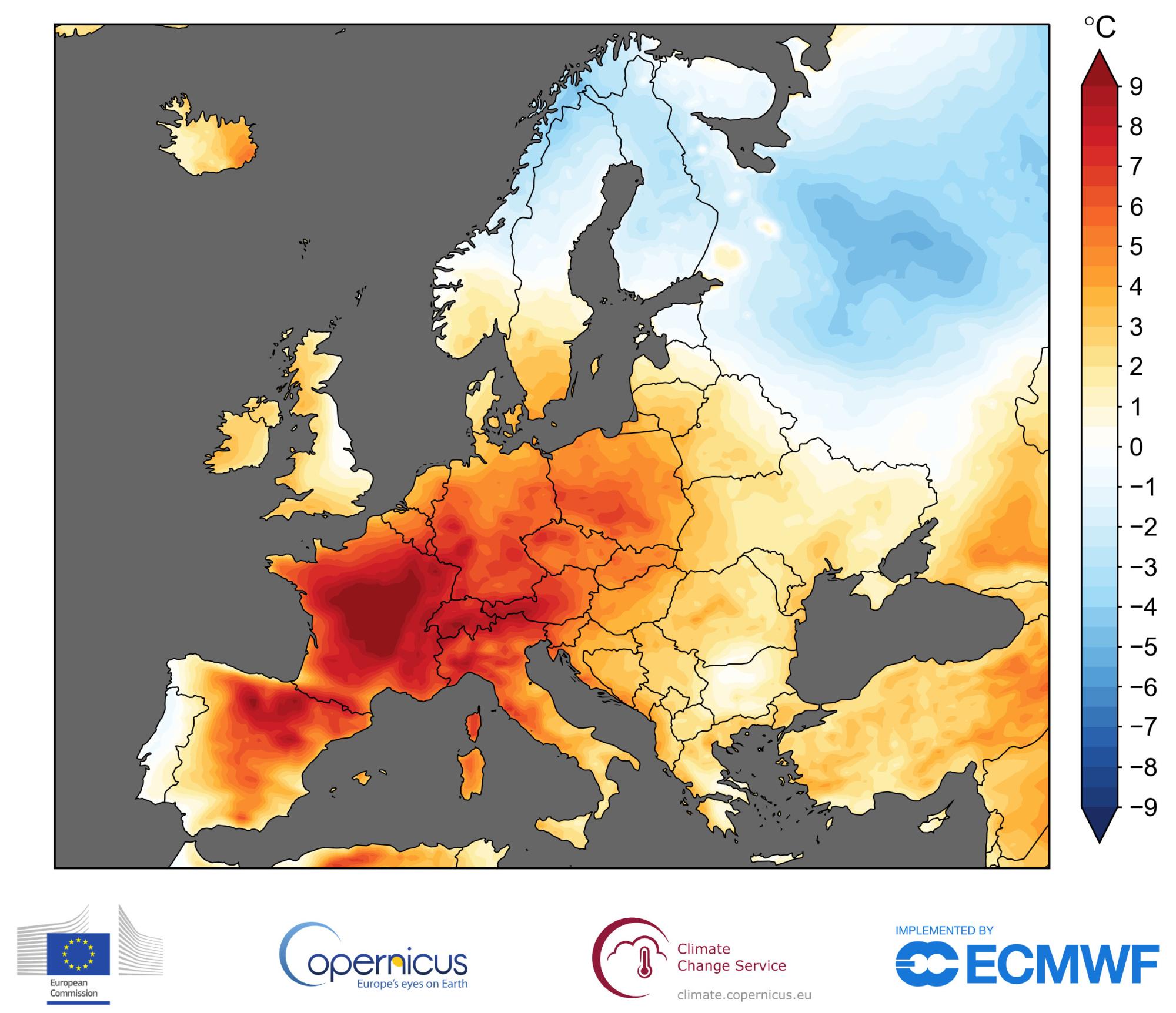 Erde Karte Rund.Heißester Juni Hitzerekord In Deutschland Europa Und Auf Der Erde