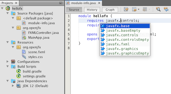 Apache NetBeans 11 1 is the first version as a high-level project