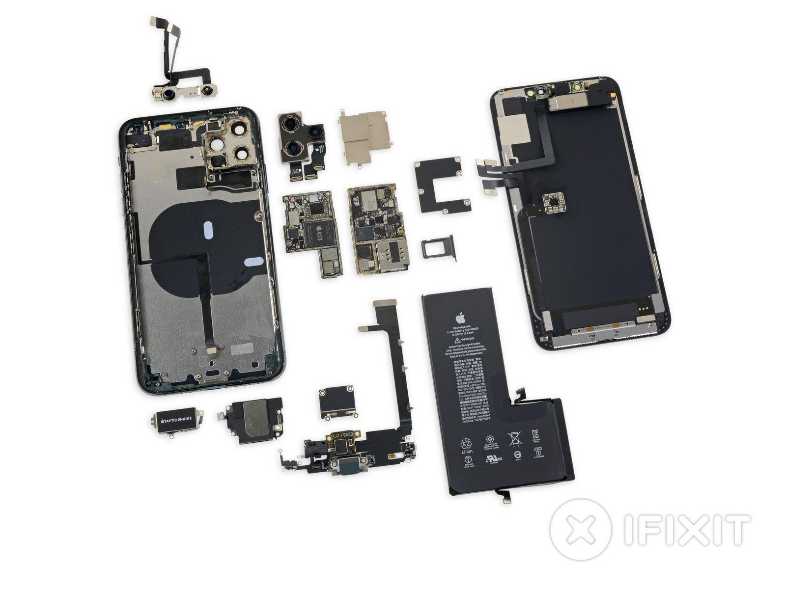Iphone 11 Pro Teardown Spekulationen Uber Bidirektionales