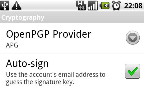 k9mail für Android mit OpenPGP-Unterstützung   heise online