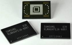 Микросхемы памяти Samsung moviNAND объемом 8 и 16 ГБ предназначены для смартфонов.
