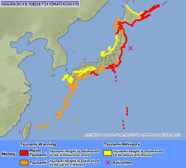 Nach Erdbeben in Japan: Hohe Kursverluste an Brse