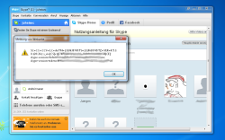 XSS-Demo in Skype
