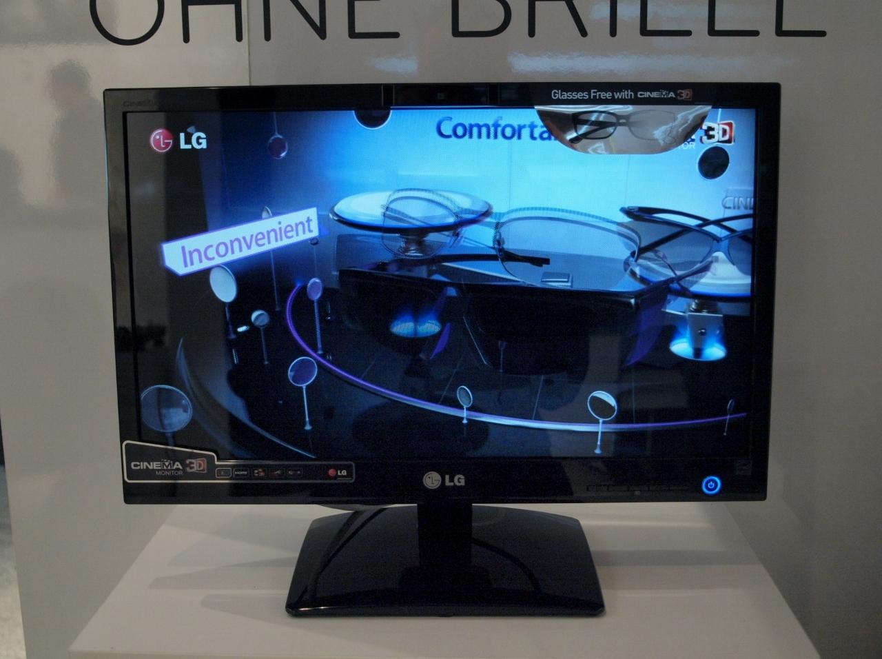 gamescom lgs erster 3d monitor ohne brille heise online. Black Bedroom Furniture Sets. Home Design Ideas