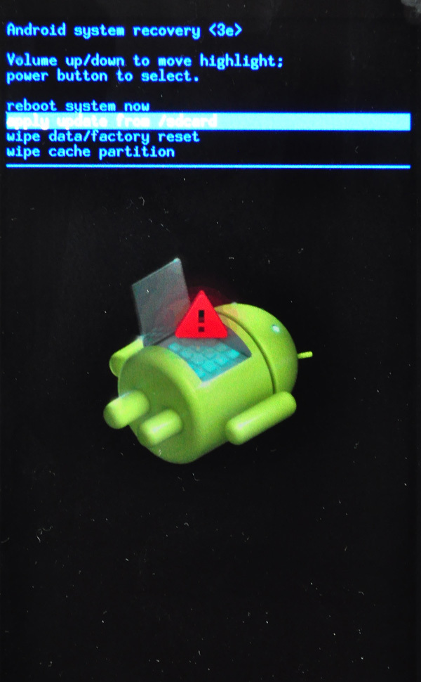 how to get in recovery mode on android