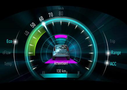 Pkw-Armaturenbrett mit 3D-Anzeige   heise online   {Armaturenbrett auto 40}