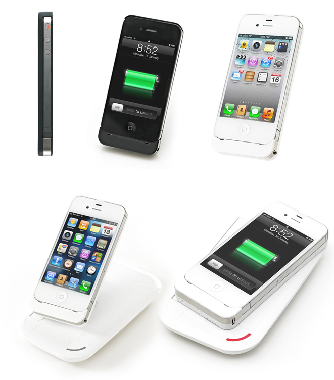 iphone kabellos aufladen mac i. Black Bedroom Furniture Sets. Home Design Ideas