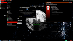 Anonymous-OS 0.1 mit Mate Desktop