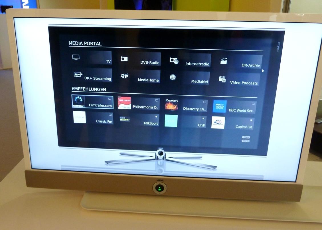 smart tv loewe r umt auf heise online. Black Bedroom Furniture Sets. Home Design Ideas