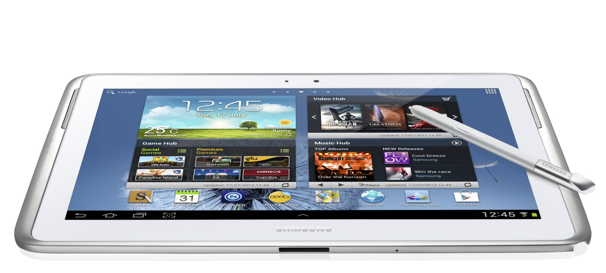 galaxy note 10 1 android tablet mit touch und. Black Bedroom Furniture Sets. Home Design Ideas