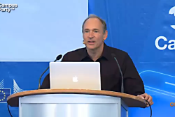 Tim Berners-Lee auf der Campus Party in Berlin