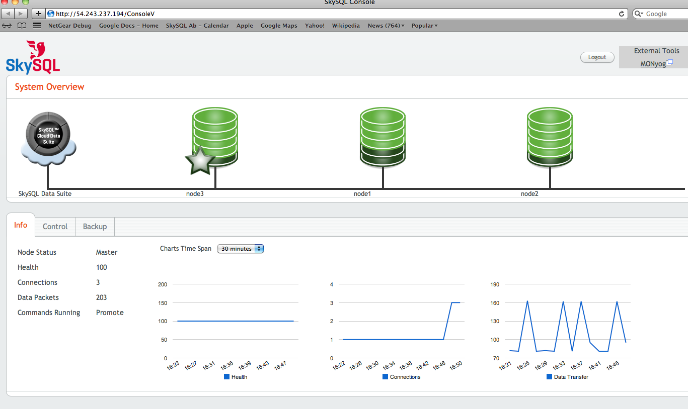 Screenshot Cloud Data Suite