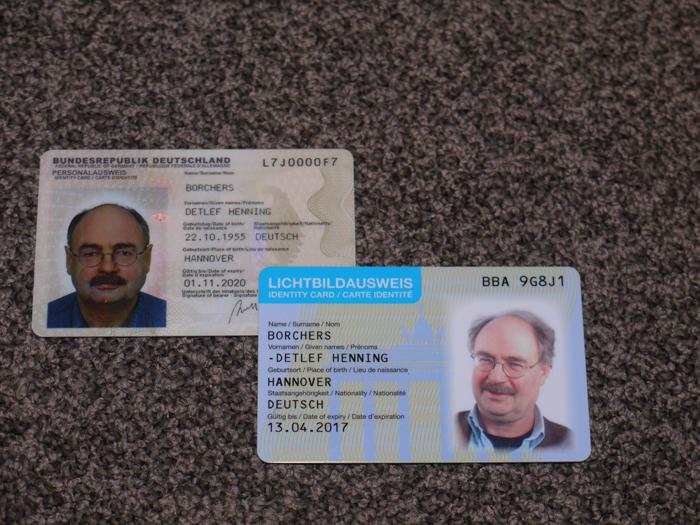 Personalausweis Niederlande