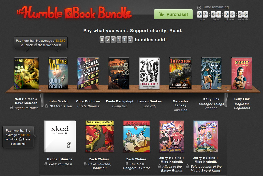 Humble eBook Bundle