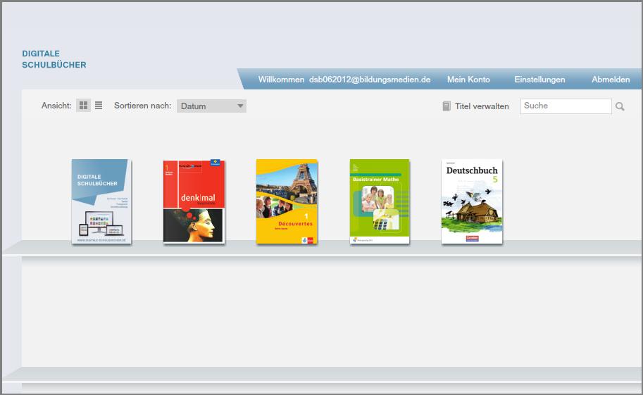 projekt digitale schulbücher gestartet  heise online ~ Buchregal Digitale Schulbücher