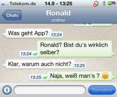 Whatsapp chatverlauf von anderen lesen