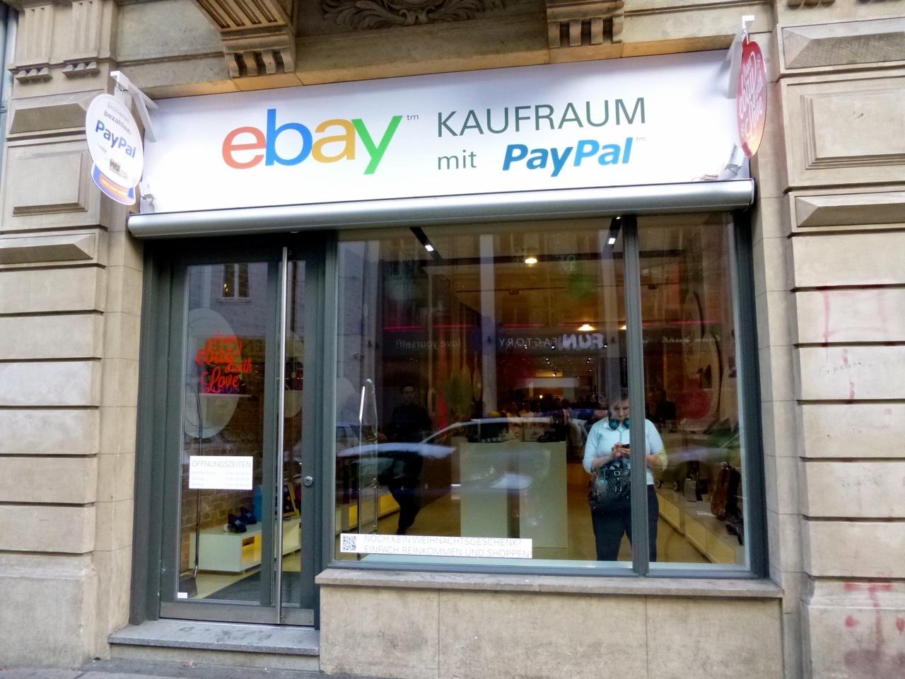 ebay er ffnet tempor r einen laden in berlin heise online. Black Bedroom Furniture Sets. Home Design Ideas