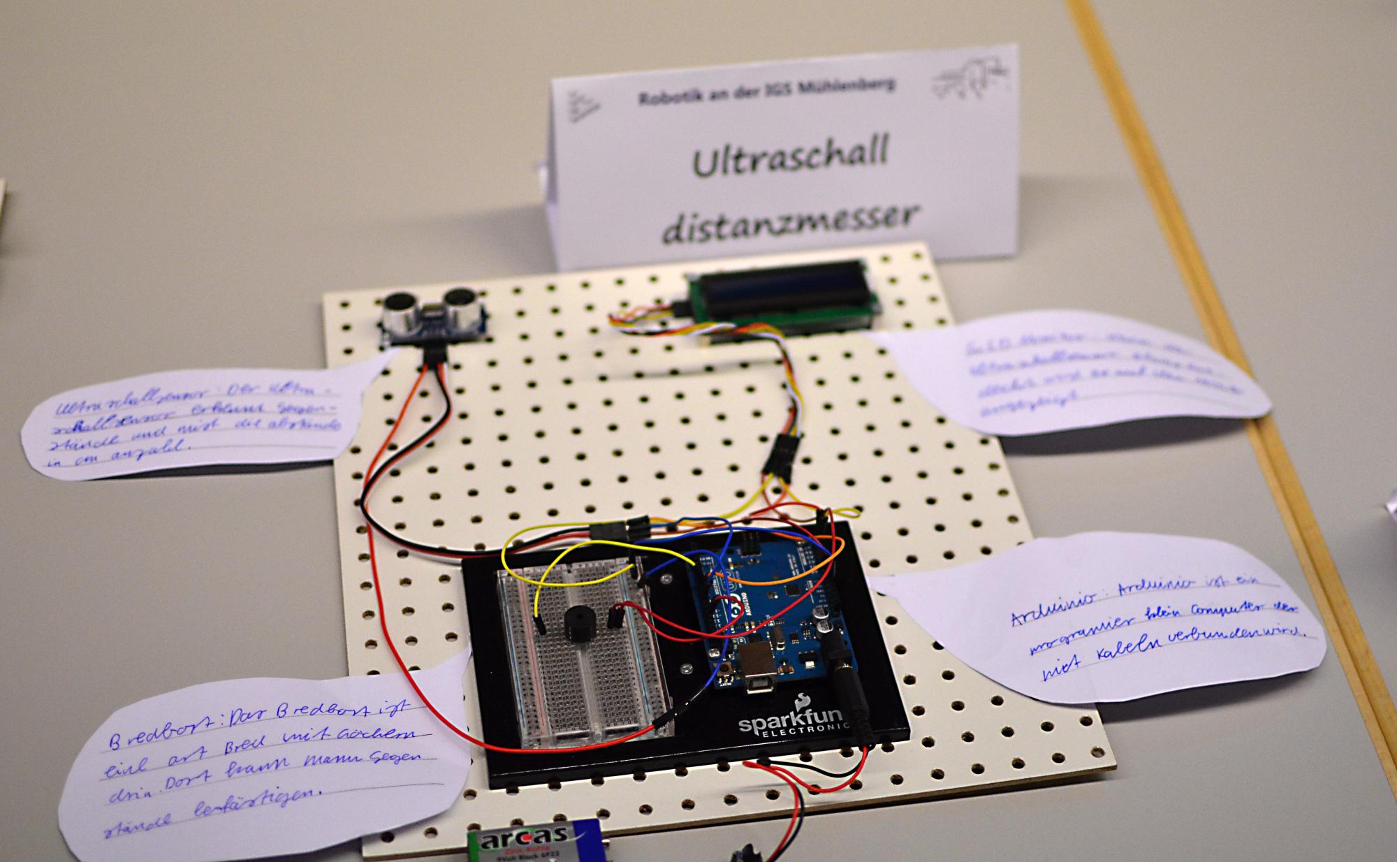 Ultraschall Entfernungsmesser Schaltung : Ultraschall sensor heise online
