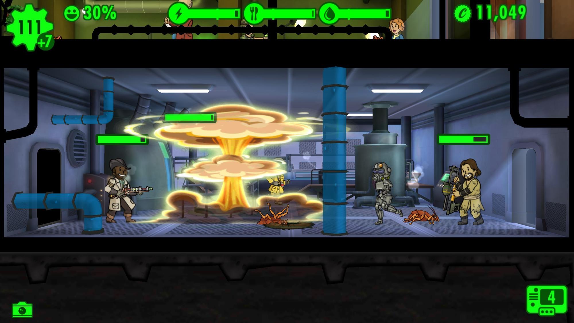Spaß Im Bunker Mit Fallout Shelter Bilderstrecke Heise Online