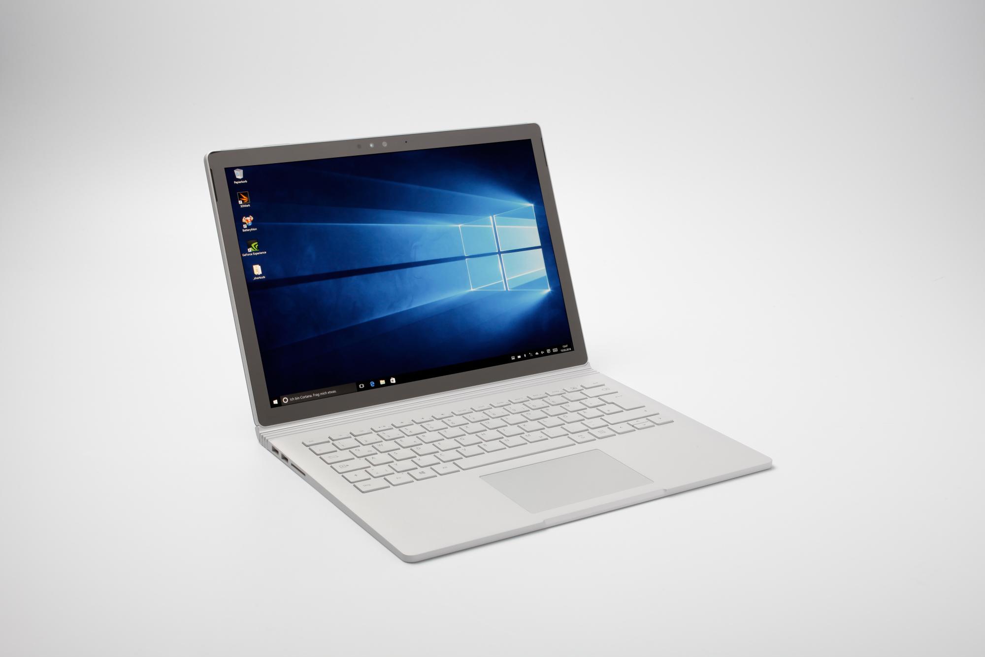 Microsoft Surface Book Edel Laptop Und Windows Tablet In