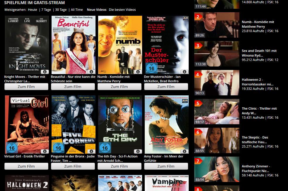 Filme Legal Im Internet Schauen