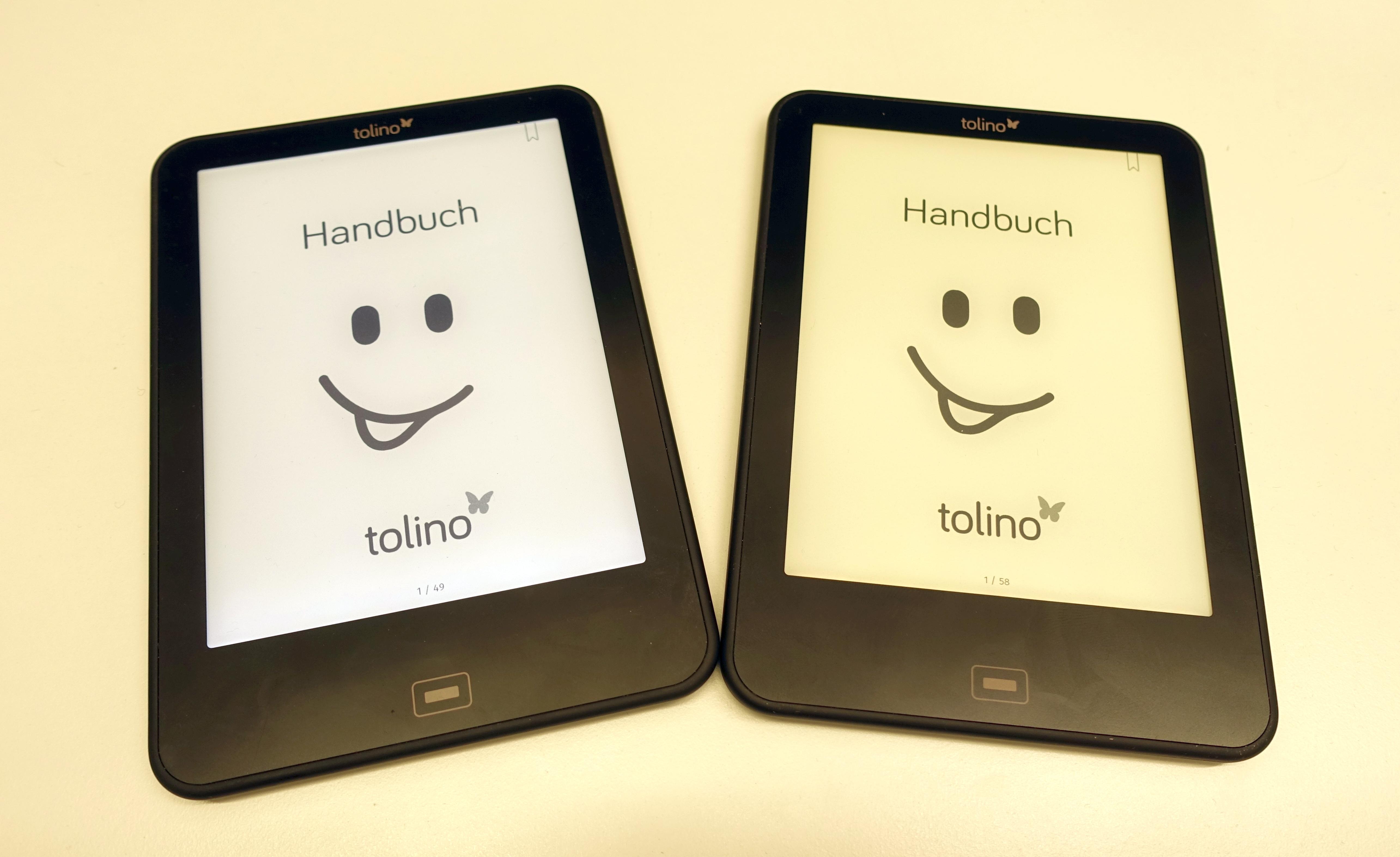 Tolino Mit Beleuchtung | Tolino Vision 4 Hd E Reader Mit Biorhythmus Ausprobiert Heise