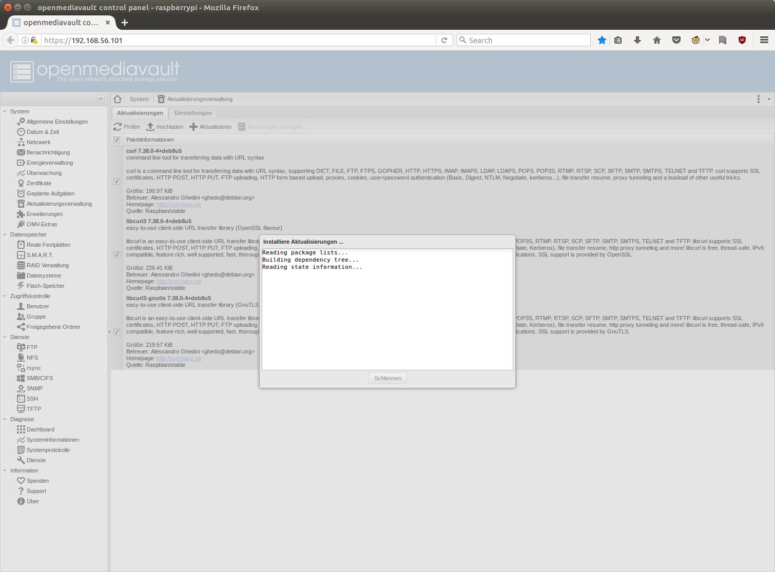 Erste Schritte mit OpenMediaVault (Bilderstrecke) | heise online