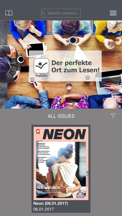 mylese lesezirkel f hren zeitschriften app ein heise online. Black Bedroom Furniture Sets. Home Design Ideas