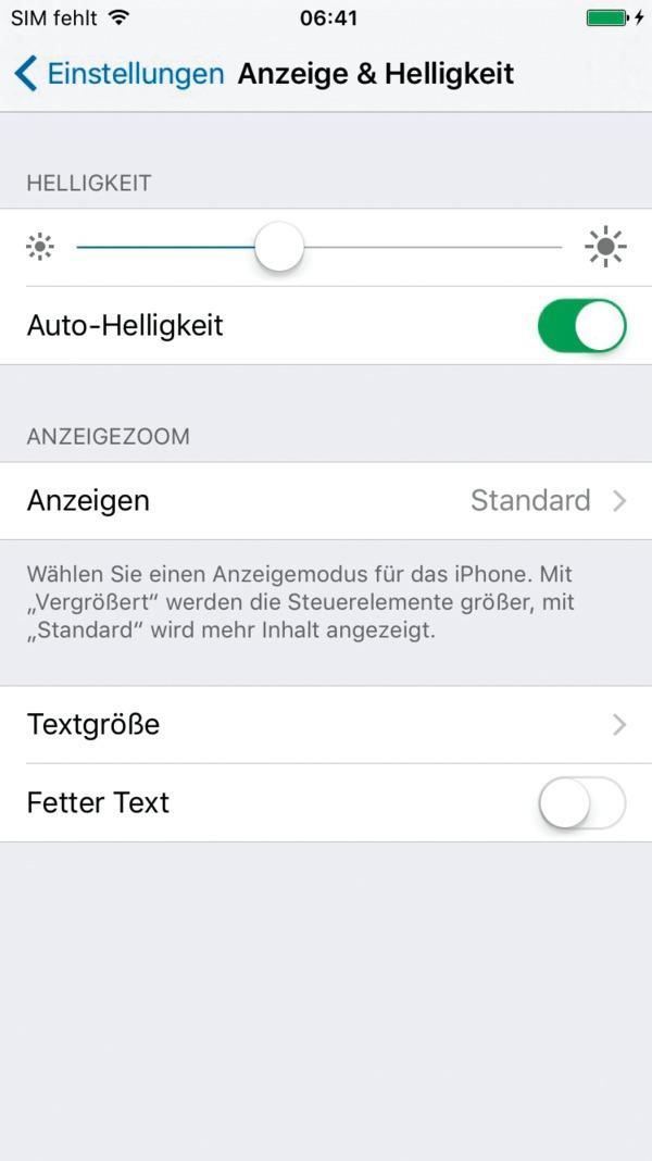Dynamischer hintergrund iphone deaktivieren