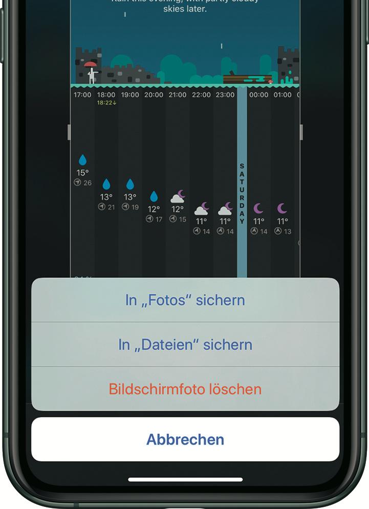 Iphone Wetter App Daten Löschen