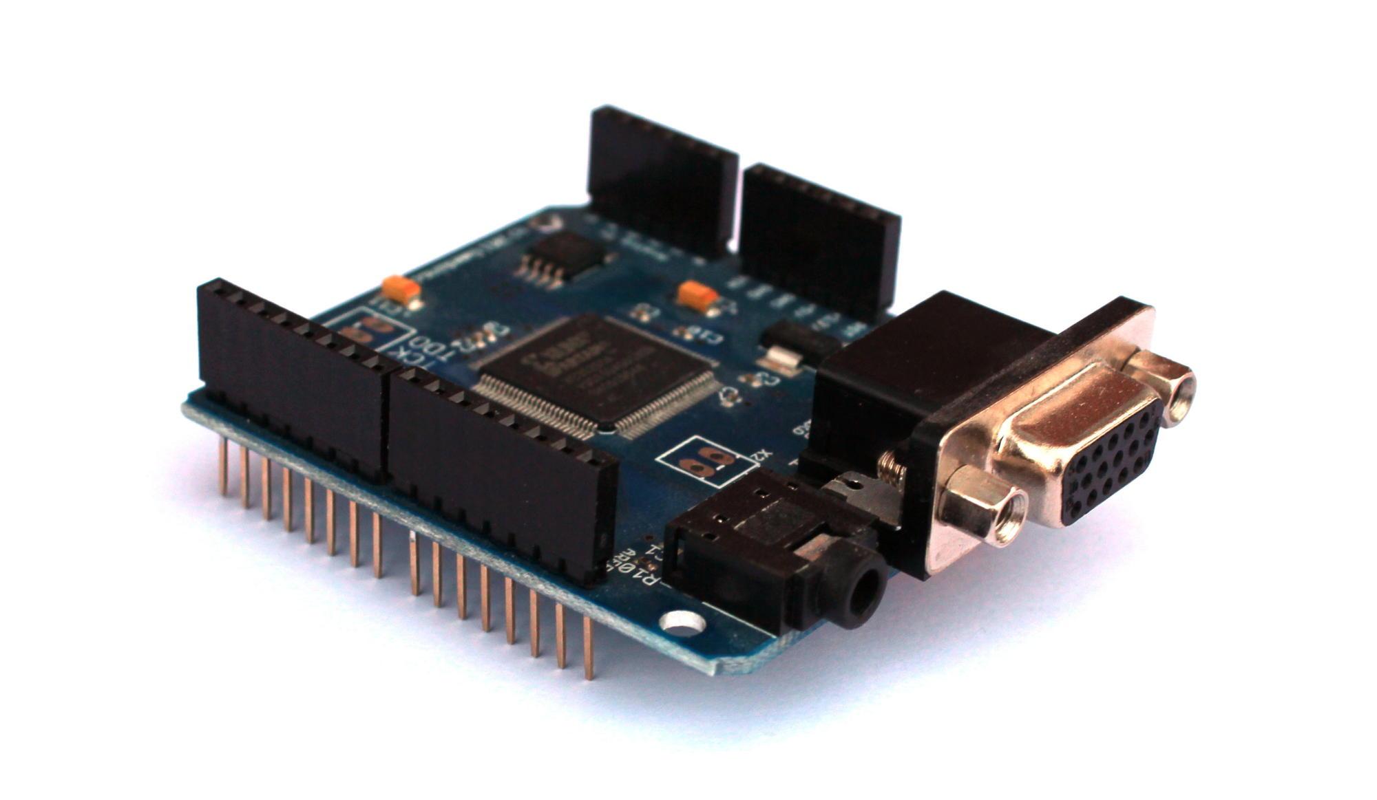 Arduino spiele mit gameduino make
