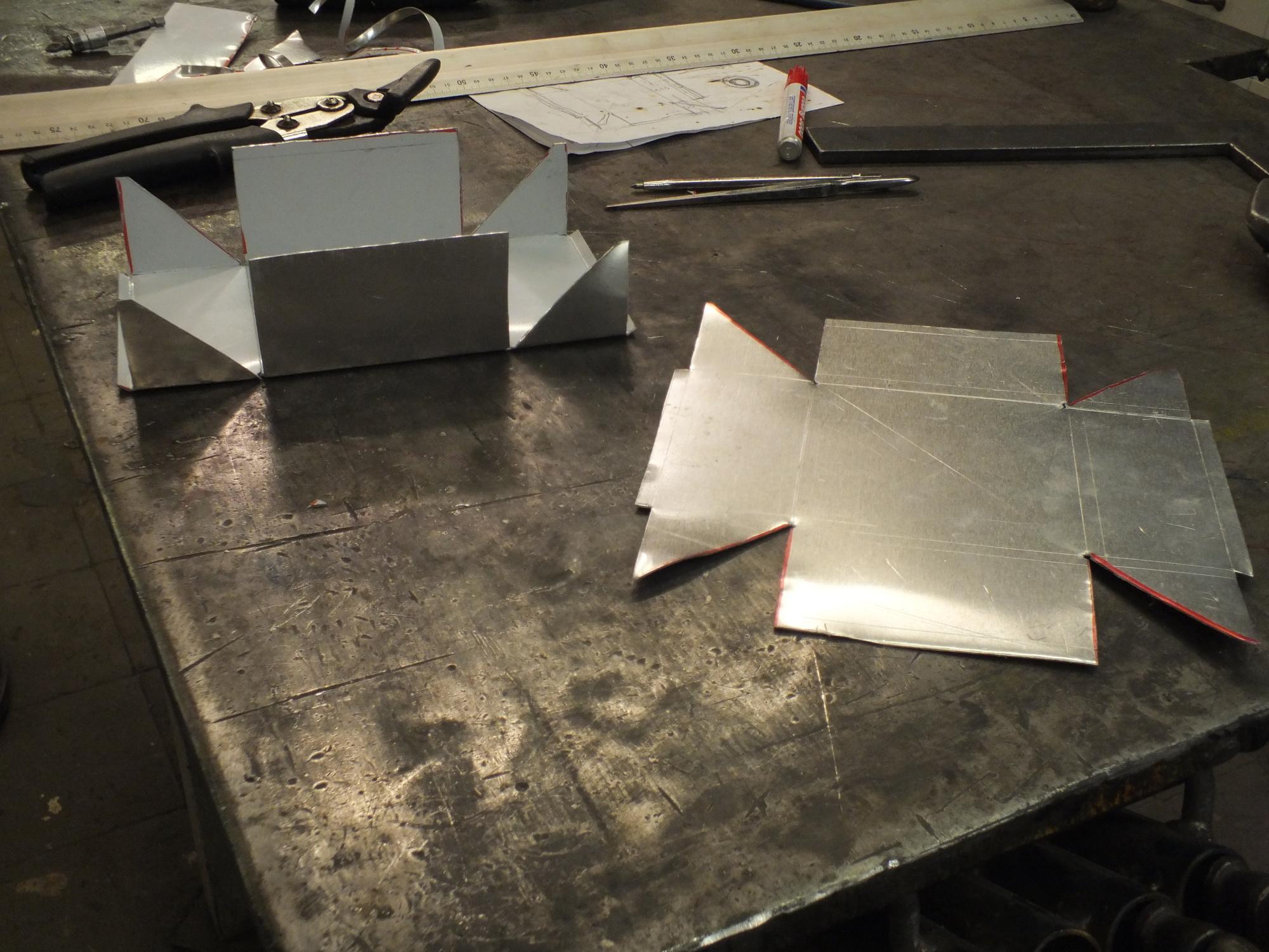 tutorials basteln mit metall make. Black Bedroom Furniture Sets. Home Design Ideas