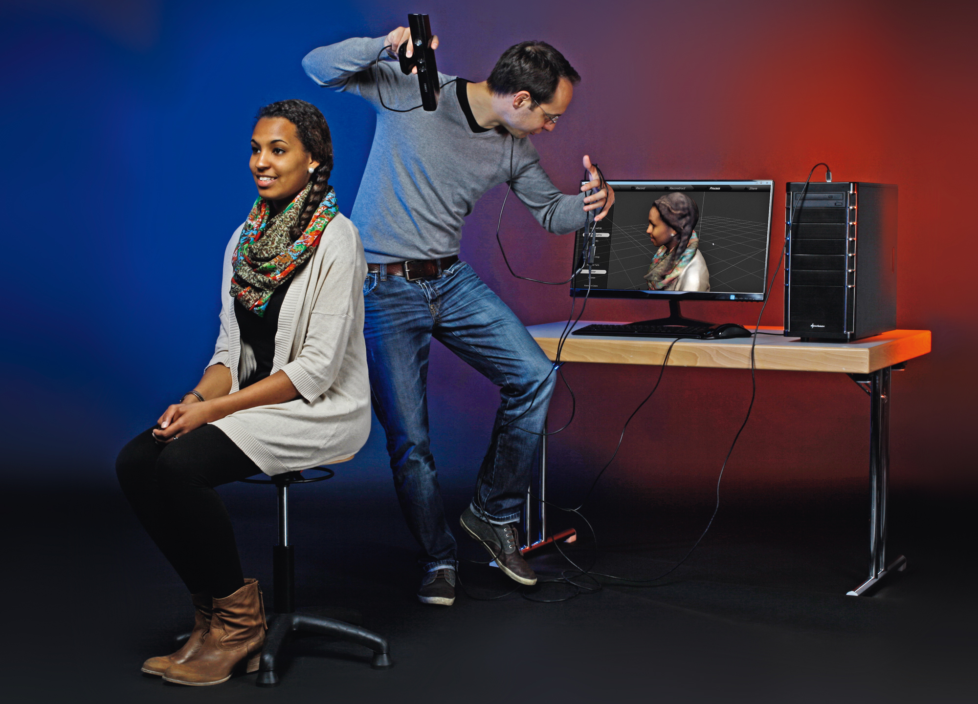 how to build a 3d scanner with kinect