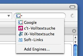 Searchplugins für Firefox, Mozilla und Netscape