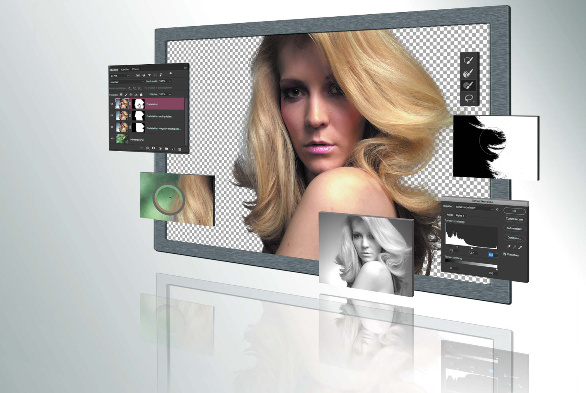 Freistellen Die Kür Ct Digitale Fotografie Heise Magazine