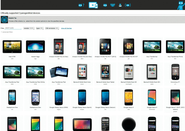 Custom-ROM CyanogenMod | c't | Heise Magazine