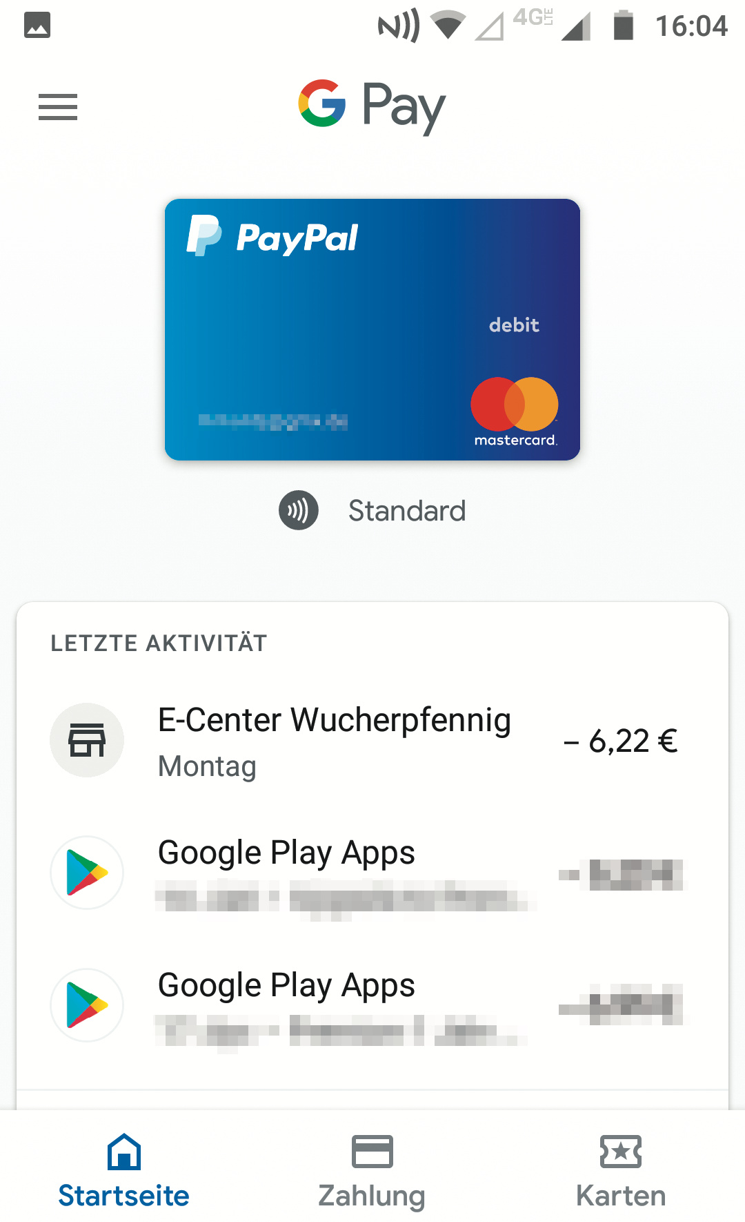 Paypal Karte.Google Pay Kooperiert Mit Paypal C T Heise Magazine
