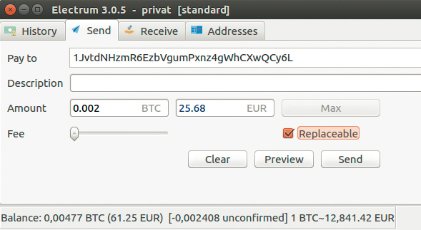 Wie berechnet man Bitcoin-Transfergebuhr?