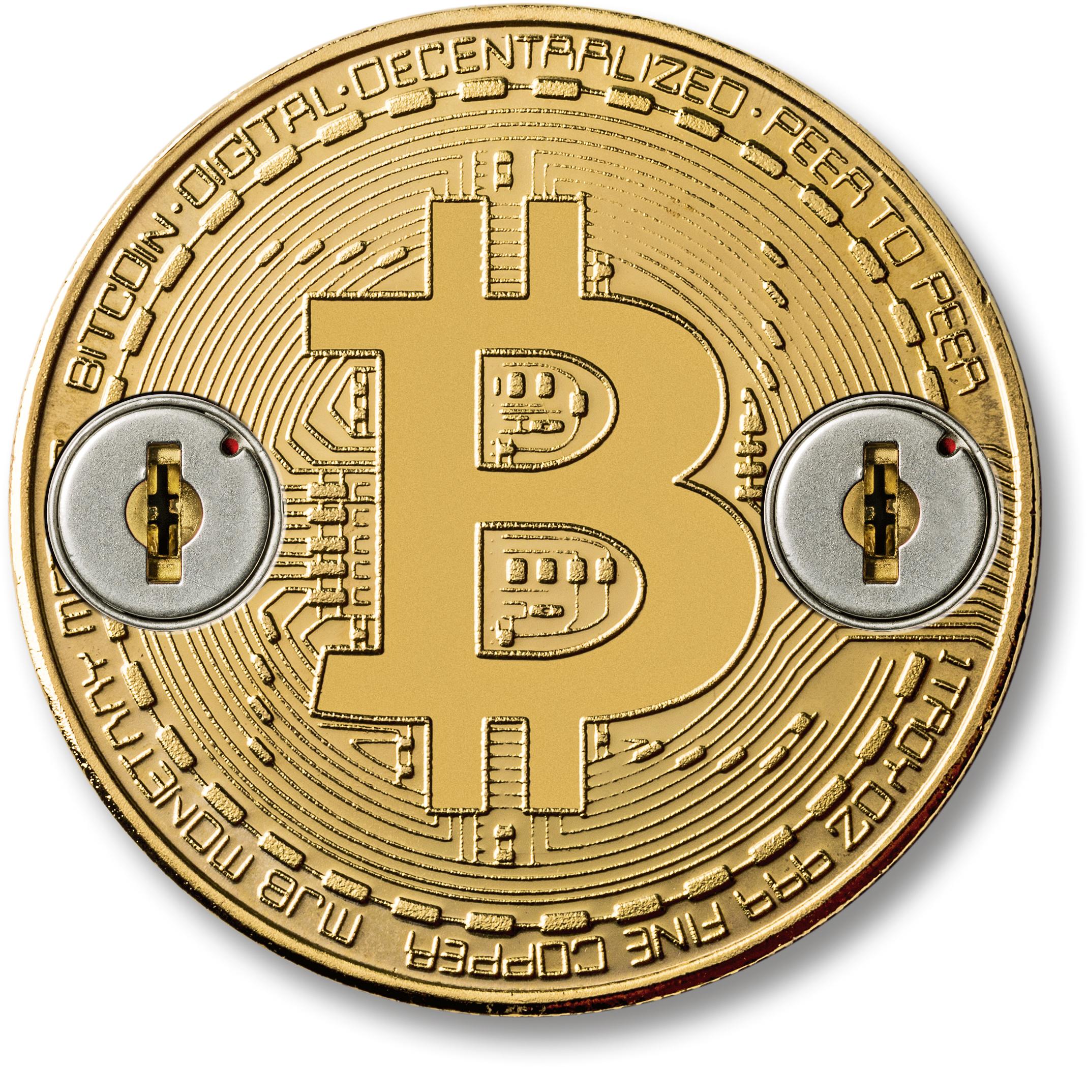 Bitcoins Klauen