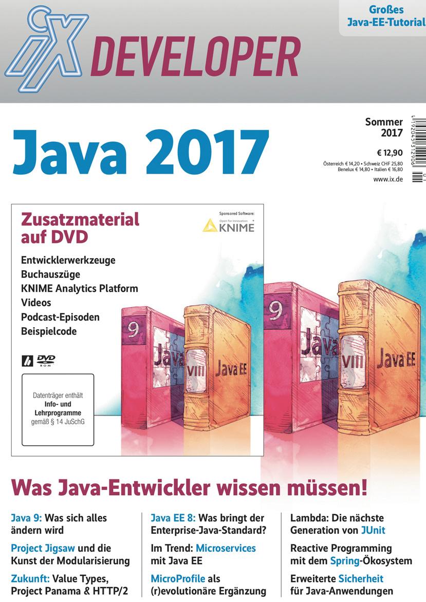 Das Modulsystem Jigsaw in Java 9 | iX | Heise Magazine