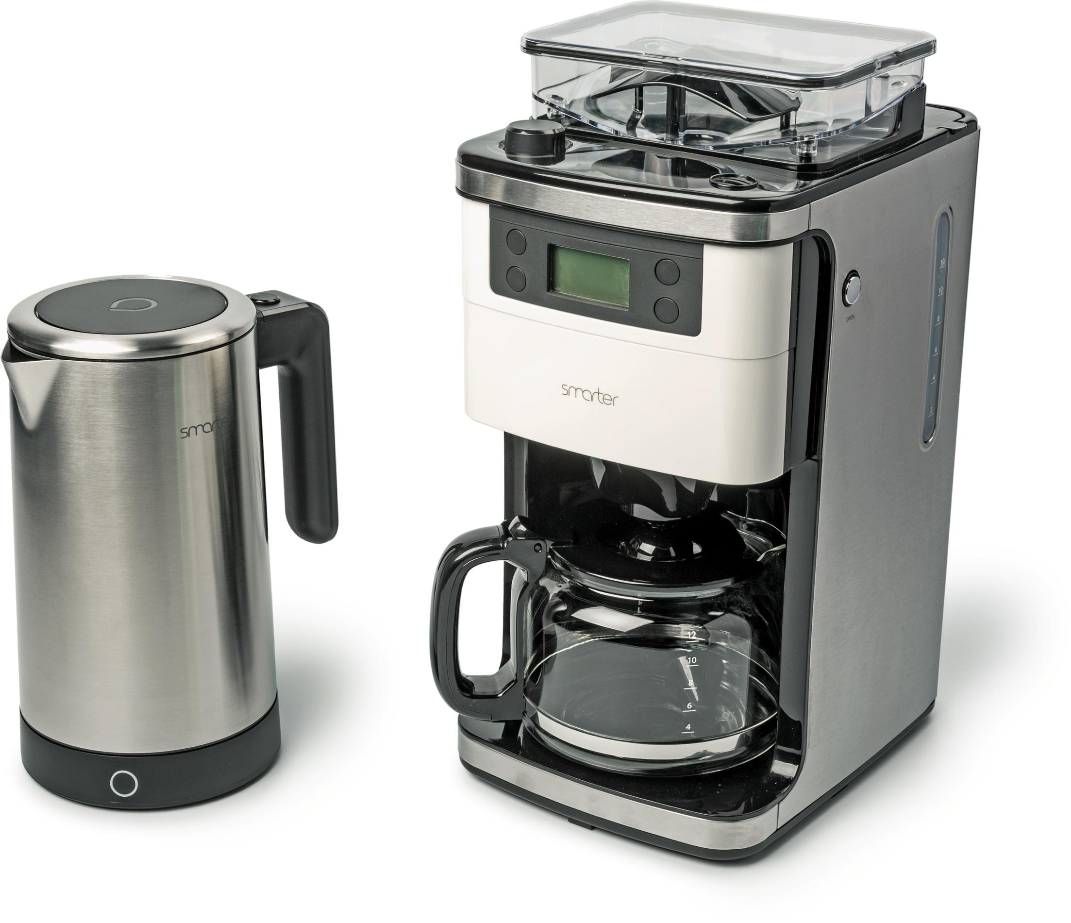 Der Wasserkocher IKettle 2.0 Und Die Kaffeemaschine Smarter Coffee  Unterscheiden Sich Von Gewöhnlichen Geräten Dieser Art Durch Eine App  Anbindung Per WLAN.